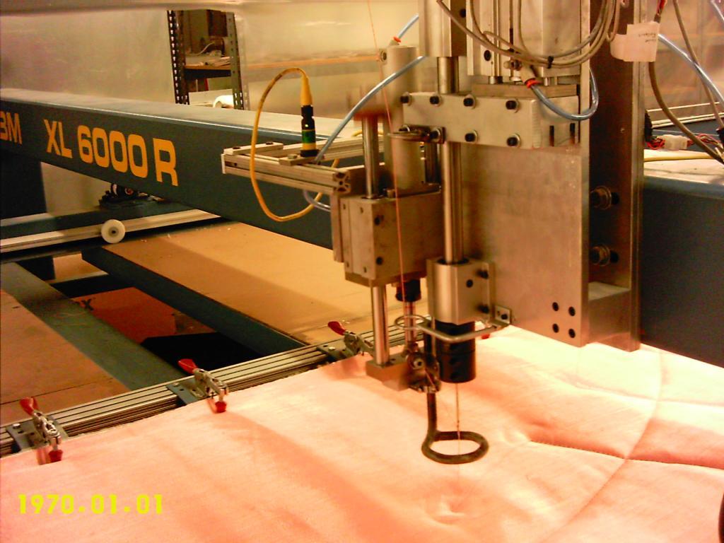 ABM International - XL-6000R Single Needle Quilting Machine : used innova quilting machine - Adamdwight.com