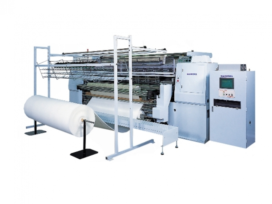 ABM International - HSQ-100DC Multi-Needle Quilting Machine : quilting machine - Adamdwight.com